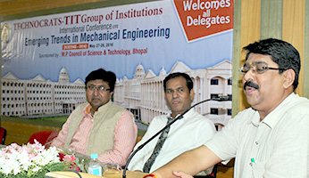 International Conference on Emerging Trends in Mechanical Engg.2016 organized by Dept. of Mech.Engg TIT Excellence