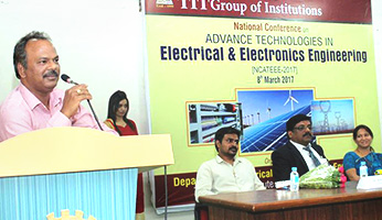 National Conference on Advance Technologies in Electrical & Electronics organised by Electrical & Electronics department Technocrats Institute of Technology & Science