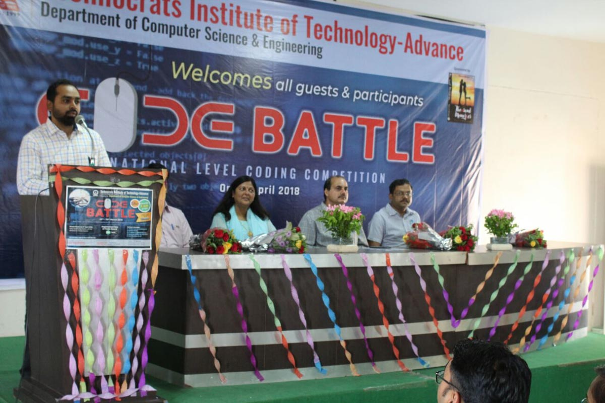 """Code Battle 2018"" – National Level Coding Competition"